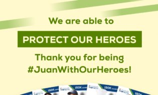 A Salute to Frontliners: JuanLife Gives Back