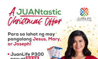 A JUANtastic Christmas Offer Para Kay Jesus, Mary At Joseph