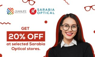 20% Off At Sarabia Optical For Every JuanLife Policyholder